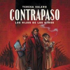 Cómics: CÓMICS. CONTRAPASO. LOS HIJOS DE LOS OTROS - TERESA VALERO (CARTONÉ). Lote 252788875
