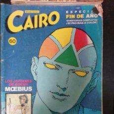 Cómics: CAIRO Nº 60. Lote 252923520
