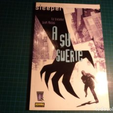 Cómics: SLEEPER. N° 1. NORMA. (M-2).. Lote 252958860