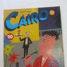 Cómics: CAIRO Nº 20 (OCTUBRE-1983) NORMA COMICS ARX88. Lote 252998310