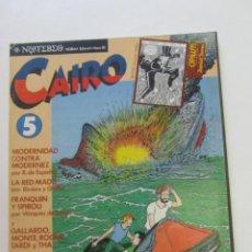 Cómics: CAIRO Nº 5 NORMA EDITORIAL 1983. FRANQUIN PERE JOAN RIERA GALLARDO NORMA ARX88. Lote 252999275