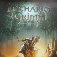 Cómics: LOTHARIO GRIMM - BARTHELEMY- GALLIANO - Nº1 - ED NORMA - 2006. Lote 253016005