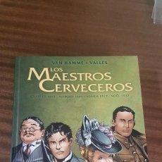 Fumetti: LOS MAESTROS CERVECEROS. Lote 253346360