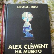 Cómics: ALEX CLEMENT HA MUERTO. Lote 253353195