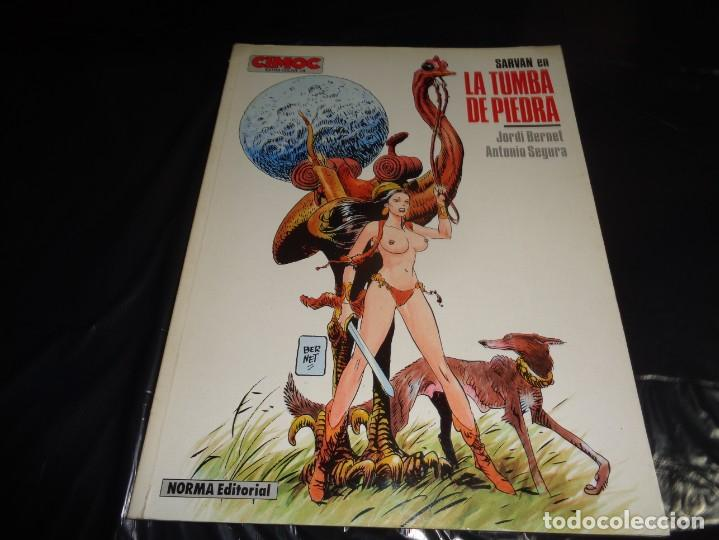SARVAN EN LA TUMBA DE PIEDRA CIMOC EXTRA COLOR 18 1986 NORMA (Tebeos y Comics - Norma - Cimoc)