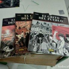 Cómics: X EL GRITO DEL PUEBLO 1, 2 Y 3, DE JACQUES TARDI (NORMA). Lote 253450620