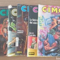 Cómics: 6 CIMOC 134 154 132 64 67 56. Lote 253573585