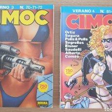 Cómics: 2 CIMOC VERANO 4 CIMOC INVIERNO 3. Lote 253574020