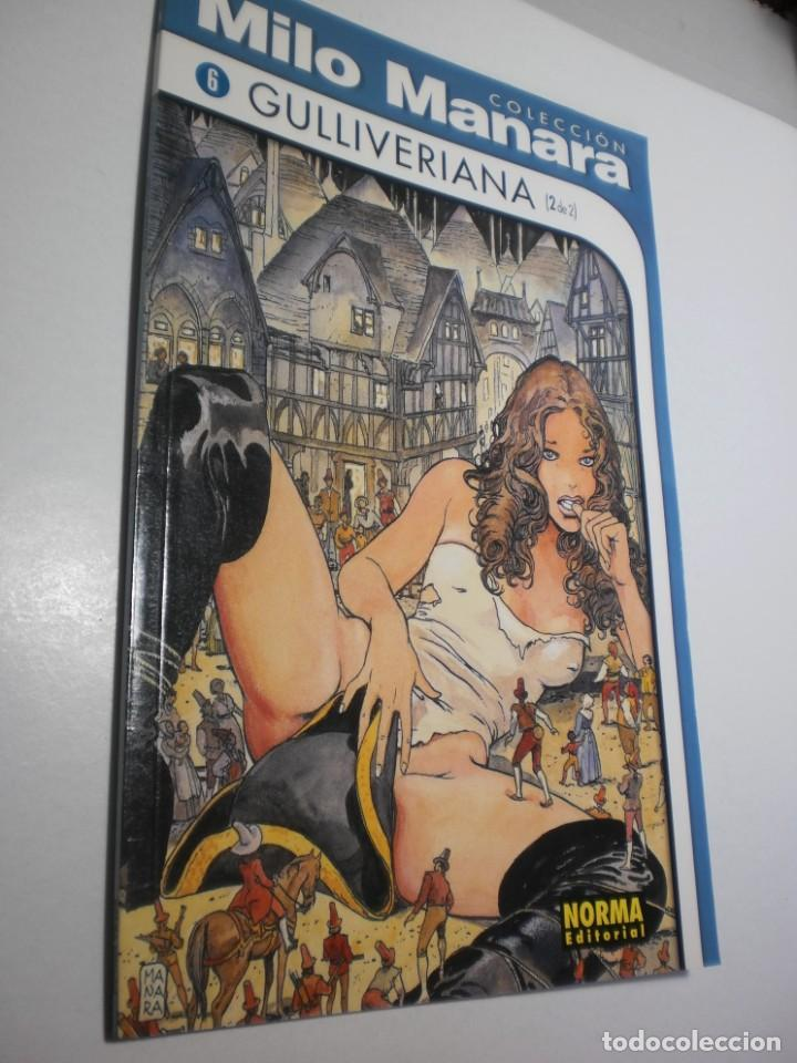 MILO MANARA Nº 6. GULLIVERIANA NORMA 1999 (SEMINUEVO) (Tebeos y Comics - Norma - Otros)
