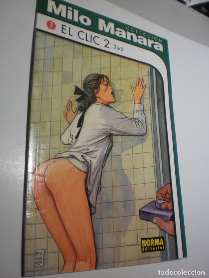 MILO MANARA Nº 7. EL CLIC 2 NORMA 1999 (SEMINUEVO) (Tebeos y Comics - Norma - Otros)