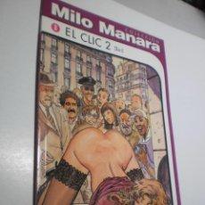 Cómics: MILO MANARA Nº 8. EL CLIC 2 NORMA 1999 (SEMINUEVO). Lote 253578025