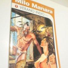 Cómics: MILO MANARA Nº 9. VERANO INDIO NORMA 1999 (SEMINUEVO). Lote 253578170