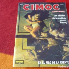 Cómics: CIMOC Nº 158 ( BOUCQ LOS DIENTES DEL ESCUALIDO ) ¡BUEN ESTADO! LA REVISTA DE COMICS NORMA. Lote 253603000