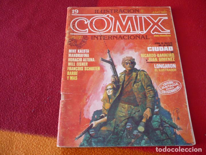 COMIX Nº 19 ( KALUTA ALTUNA GIMENEZ EISNER ) ILUSTRACION INTERNACIONAL TOUTAIN 1992 (Tebeos y Comics - Norma - Cimoc)