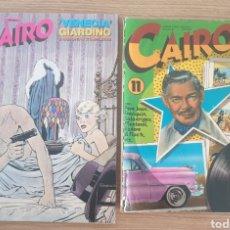 Cómics: 2 COMIC CAIRO NUMERO 70 Y 11. Lote 253704370