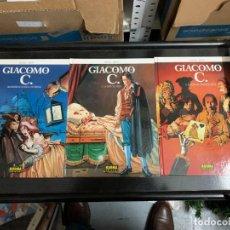 Cómics: LOTE DE 6 ÁLBUMES DE GIACOMO C, DE DUFAUX Y GRIFFO. DEL 1 AL 6. Lote 253721045