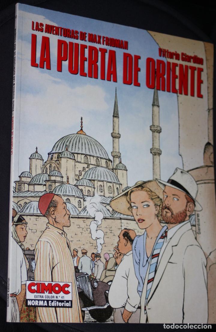 LAS AVENTURAS DE MAX FRIDMAN (DE VITTORIO GIARDINO):LA PUERTA DE ORIENTE .CEC 41 (COMO NUEVO) (Tebeos y Comics - Norma - Cimoc)