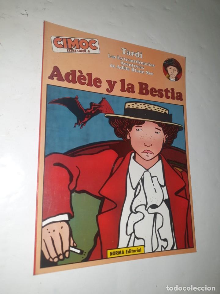 ADELE Y LA BESTIA 0 (Tebeos y Comics - Norma - Cimoc)