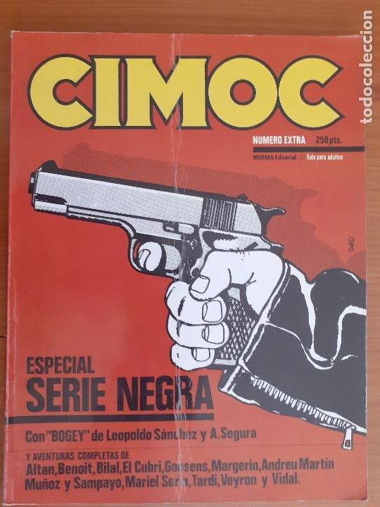 CIMOC NÚMERO EXTRA ESPECIAL SERIE NEGRA. NORMA EDITORIAL 1981 (Tebeos y Comics - Norma - Cimoc)