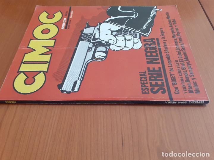 Cómics: Cimoc Número Extra Especial Serie Negra. Norma Editorial 1981 - Foto 2 - 253879135