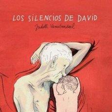 Cómics: LOS SILENCIOS DE DAVID, DE JUDITH VANISTENDAEL. Lote 253880930