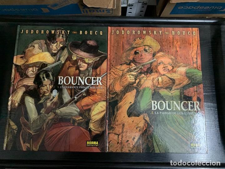 BOUNCER, DE BOUCQ Y JODOROWSKY. LOS CUATRO PRIMEROS ÁLBUMES (Tebeos y Comics - Norma - Comic Europeo)