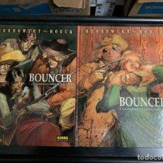 Comics: BOUNCER, DE BOUCQ Y JODOROWSKY. LOS CUATRO PRIMEROS ÁLBUMES. Lote 254005700