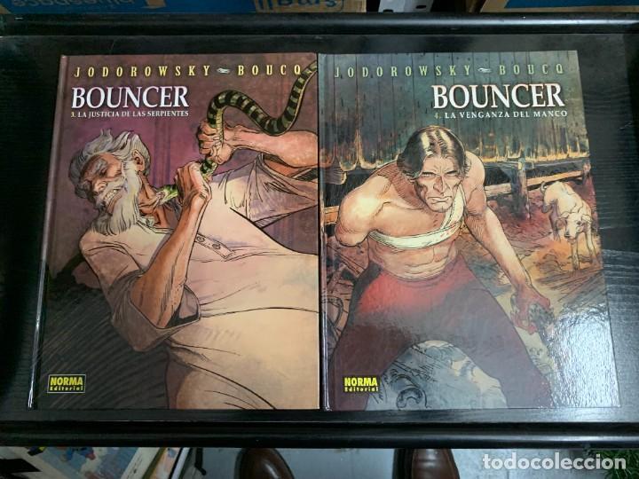 Cómics: Bouncer, de Boucq y Jodorowsky. Los cuatro primeros álbumes - Foto 3 - 254005700