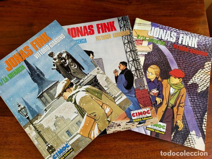 VITTORIO GIARDINO. JONAS FINK: LA INFANCIA / LA ADOLESCENCIA / LA JUVENTUD. (Tebeos y Comics - Norma - Cimoc)