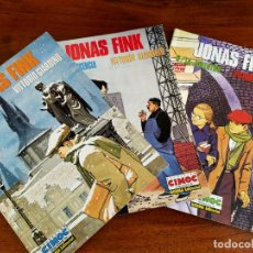 Fumetti: VITTORIO GIARDINO. JONAS FINK: LA INFANCIA / LA ADOLESCENCIA / LA JUVENTUD.. Lote 254009740