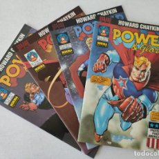 Cómics: 4 COMICS - POWER & GLORY - HOWARD CHAYKIN - SERIE COMPLETA - NORMA EDITORIAL. Lote 254292840
