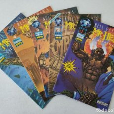 Cómics: 5 EJEMPLARES - MR. HERO - NORMA EDITORIAL - NEIL GAIMAN'S - THE NEW MAGNETIC MAN. Lote 254293020