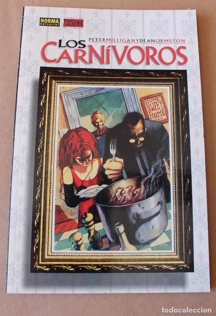 LOS CARNIVOROS - PETER MILLIGAN – COL. VERTIGO 11, NORMA AÑO 1997, – NUEVO (PRECINTADO) (Tebeos y Comics - Norma - Otros)