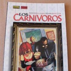 Cómics: LOS CARNIVOROS - PETER MILLIGAN – COL. VERTIGO 11, NORMA AÑO 1997, – NUEVO (PRECINTADO). Lote 254298625