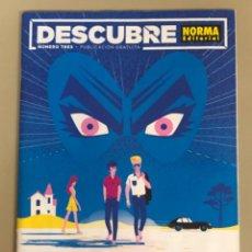 Cómics: REVISTA DESCUBRE NORMA EDITORIAL N 3. Lote 254321080