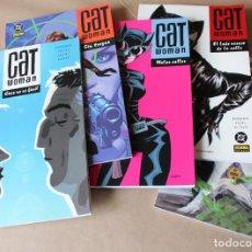 Cómics: CATWOMAN; CAER NO.., SIN TREGUA, MALAS CALLES, EL LADO.., EL GRAN GOLPE - COMPLETA NORMA - CAT WOMAN. Lote 254366740
