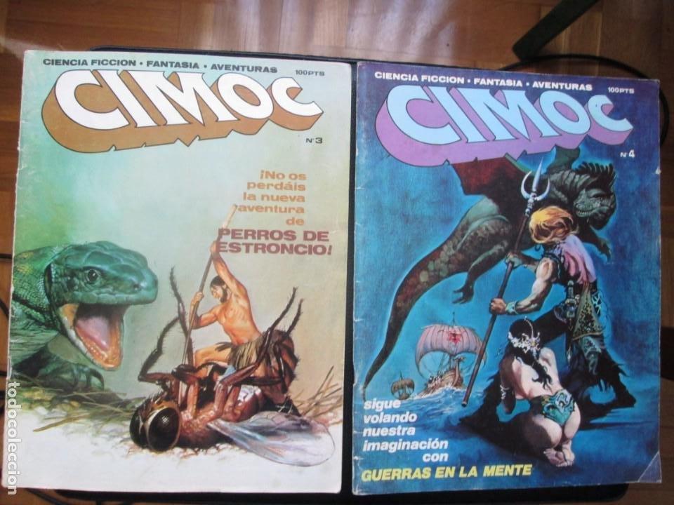 CIMOC Nº3 Y Nº4 (PRIMERA ÉPOCA) (Tebeos y Comics - Norma - Cimoc)