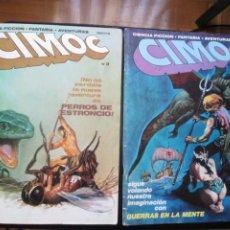 Cómics: CIMOC Nº3 Y Nº4 (PRIMERA ÉPOCA). Lote 254734970
