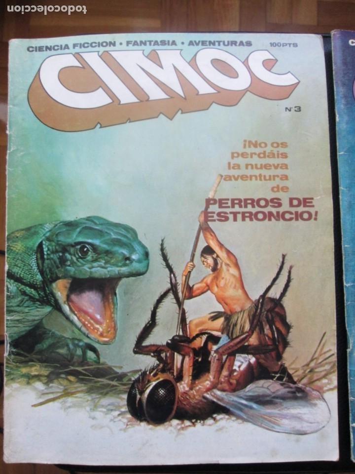 Cómics: CIMOC Nº3 Y Nº4 (Primera Época) - Foto 2 - 254734970