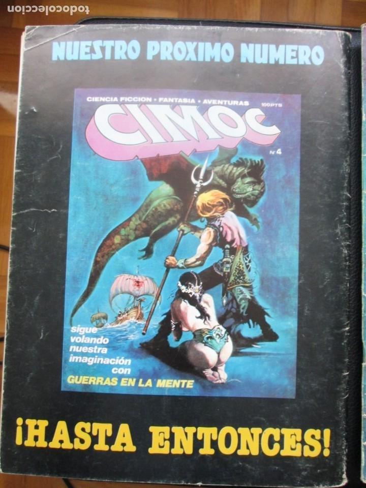 Cómics: CIMOC Nº3 Y Nº4 (Primera Época) - Foto 4 - 254734970