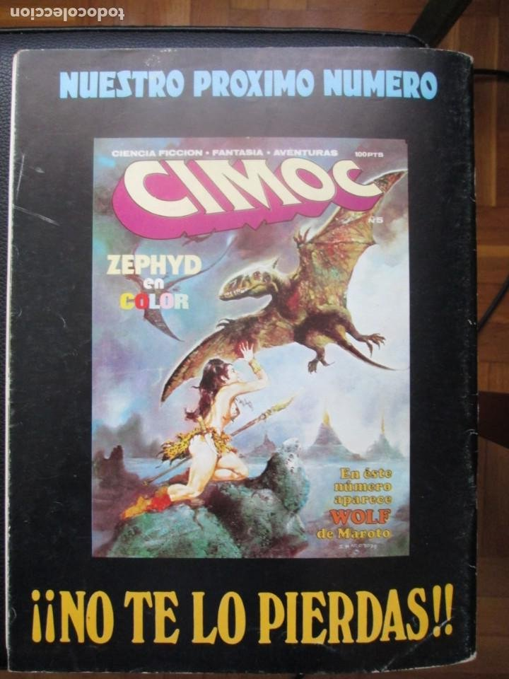 Cómics: CIMOC Nº3 Y Nº4 (Primera Época) - Foto 5 - 254734970