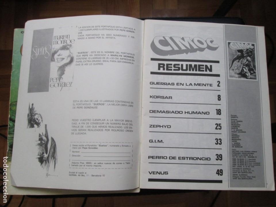 Cómics: CIMOC Nº3 Y Nº4 (Primera Época) - Foto 13 - 254734970