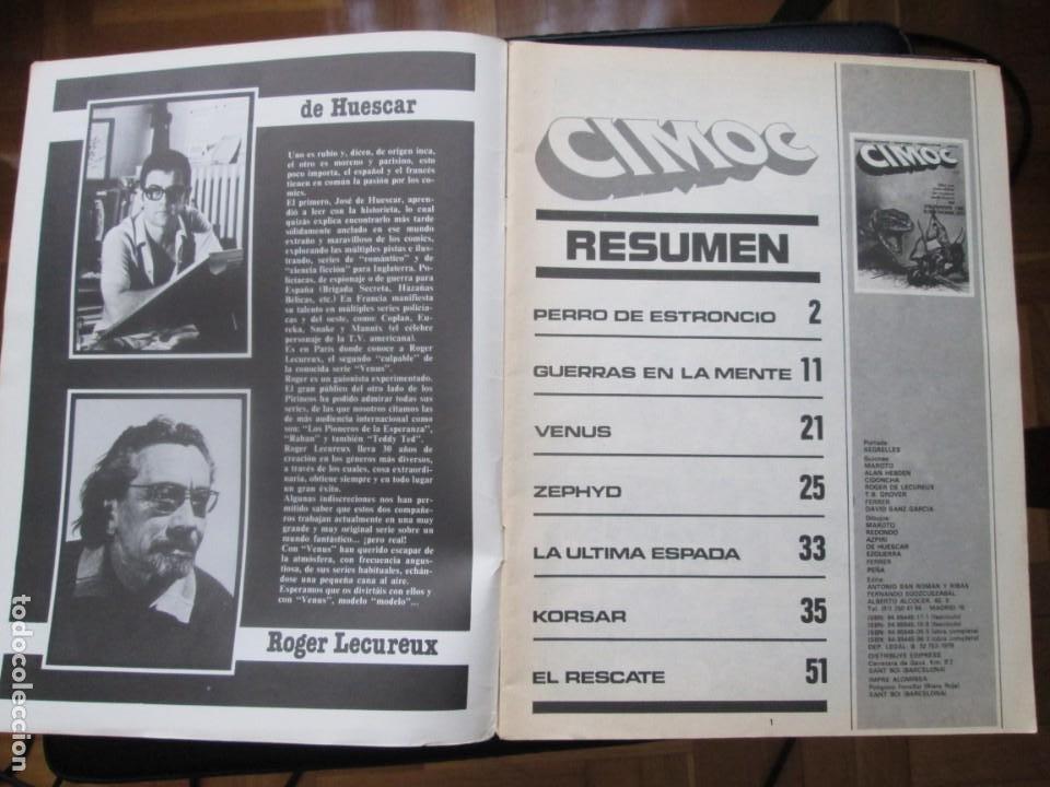 Cómics: CIMOC Nº3 Y Nº4 (Primera Época) - Foto 14 - 254734970