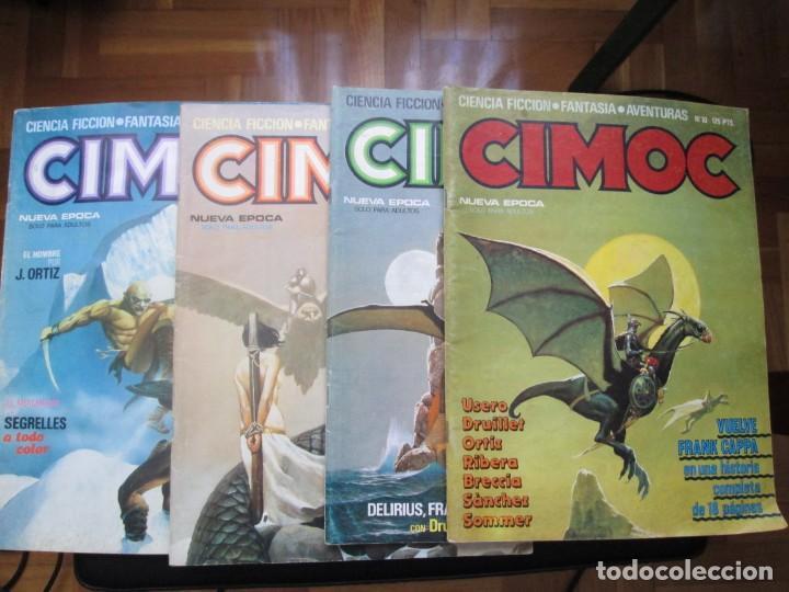 CIMOC. NÚMEROS: 1, 2, 4, 10, 163, 164, 165 Y 168 (EN TOTAL 8 NÚMEROS) (Tebeos y Comics - Norma - Cimoc)