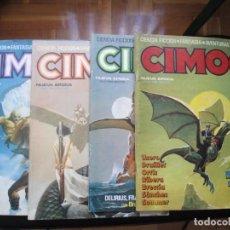 Cómics: CIMOC. NÚMEROS: 1, 2, 4, 10, 163, 164, 165 Y 168 (EN TOTAL 8 NÚMEROS). Lote 254738110