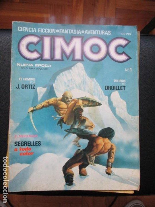 Cómics: CIMOC. Números: 1, 2, 4, 10, 163, 164, 165 y 168 (en total 8 números) - Foto 2 - 254738110