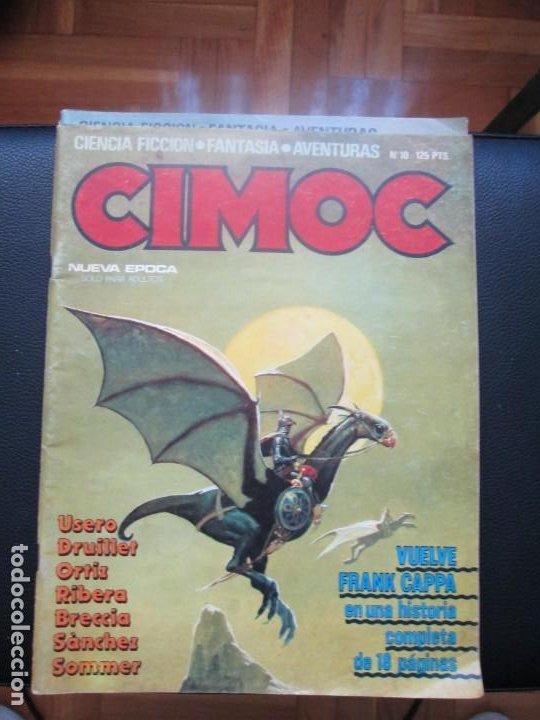 Cómics: CIMOC. Números: 1, 2, 4, 10, 163, 164, 165 y 168 (en total 8 números) - Foto 6 - 254738110
