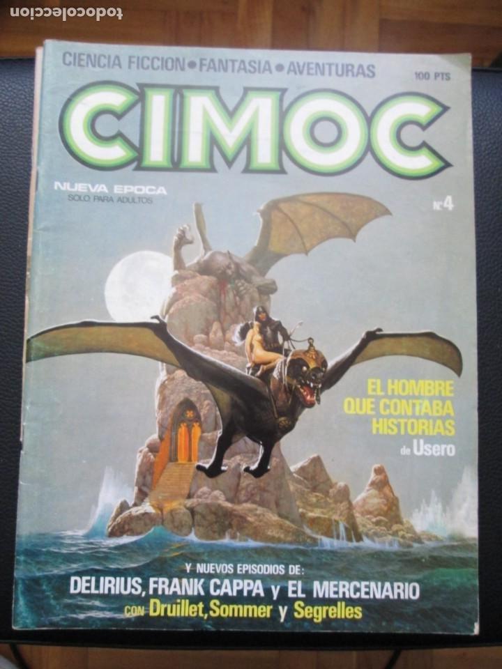 Cómics: CIMOC. Números: 1, 2, 4, 10, 163, 164, 165 y 168 (en total 8 números) - Foto 11 - 254738110