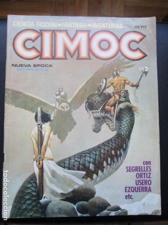 Cómics: CIMOC. Números: 1, 2, 4, 10, 163, 164, 165 y 168 (en total 8 números) - Foto 15 - 254738110