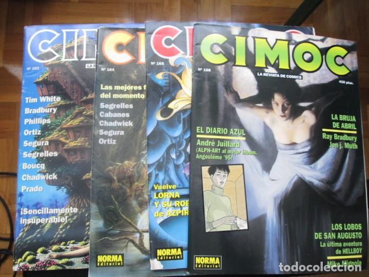 Cómics: CIMOC. Números: 1, 2, 4, 10, 163, 164, 165 y 168 (en total 8 números) - Foto 20 - 254738110